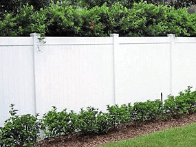 Privacy PVC Fence