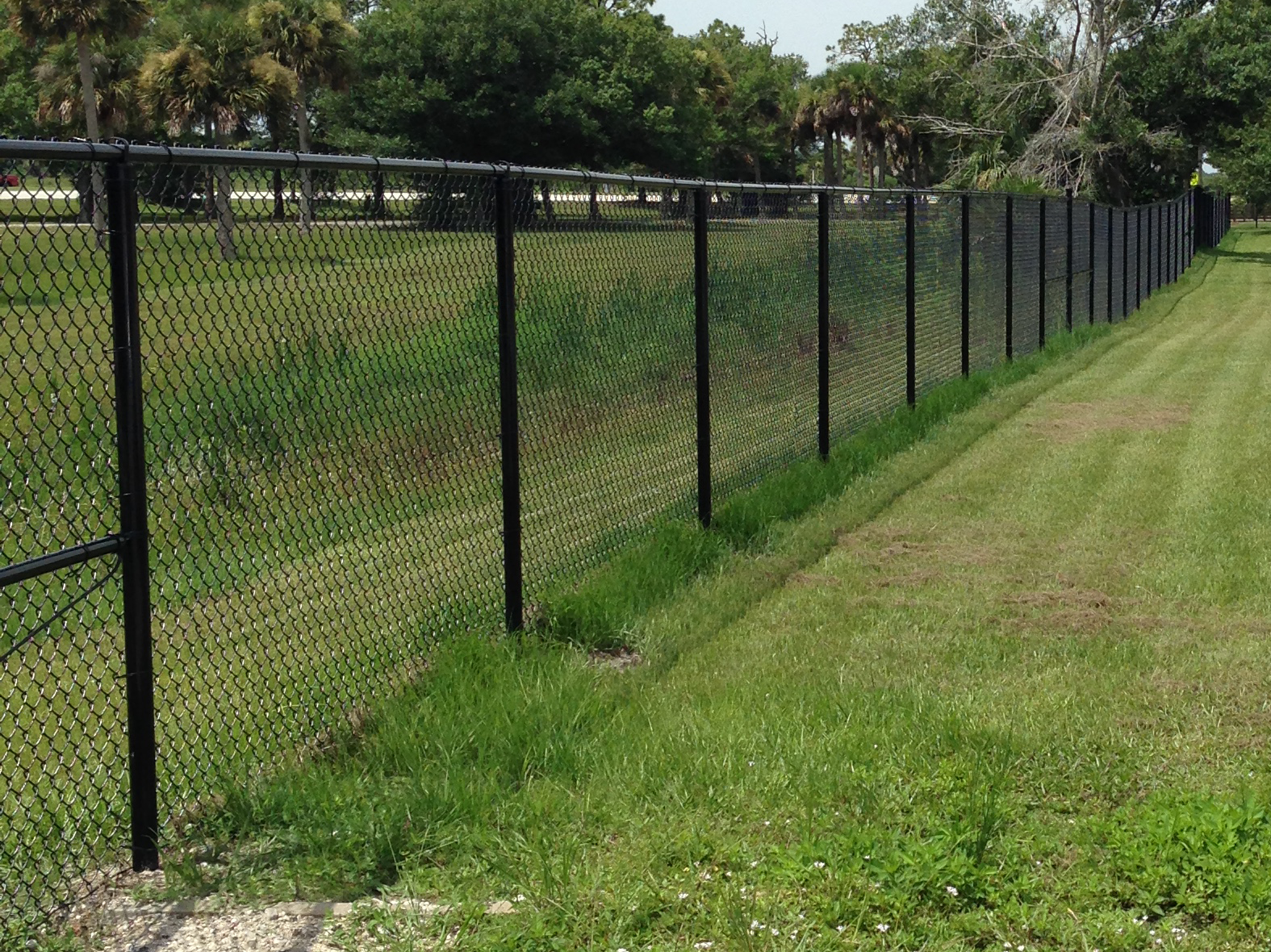price vinyl coated chain link fence