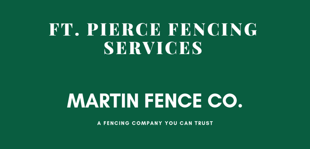 Ft. Pierce Fencing