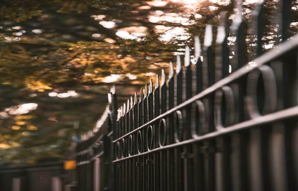 aluminmum fence